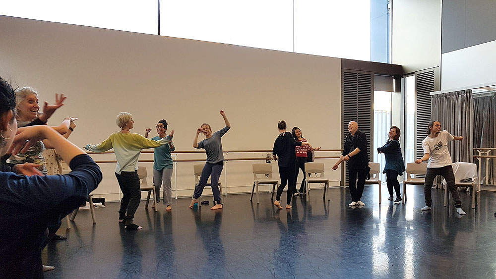 MS dance class Dance for Health, Nationale Opera and Ballet Amsterdam