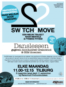 S2M Classes, Tilburg @ Factorium (Swicth2Move inclusive dance classes | Tilburg | Netherlands