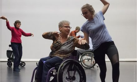 Training: Dance for elderly with special needs.